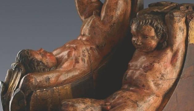 Las dos estatuas atribuidas a Miguel Ángel.