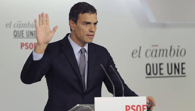 Pedro Sánchez apuesta por un gobierno con Iceta de presidente