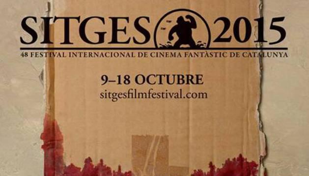 Cartel del Festival de Cine de Sitges.