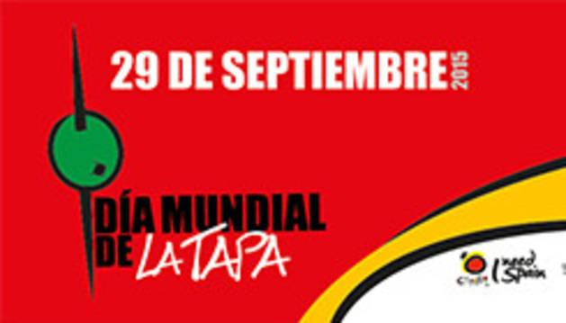 Cartel del 'Día Mundial de la Tapa'.