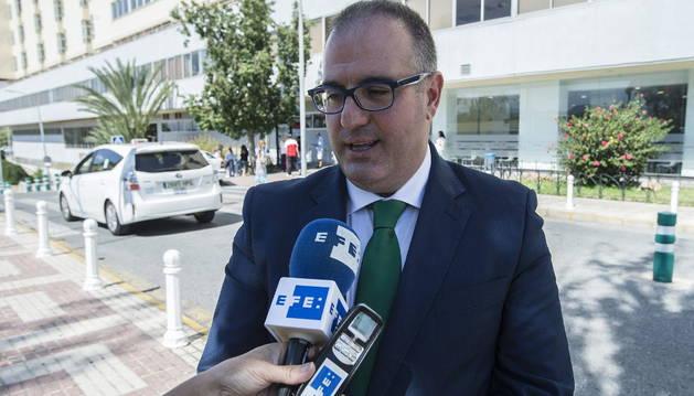 El abogado de Julián Muñoz, Antonio José García.