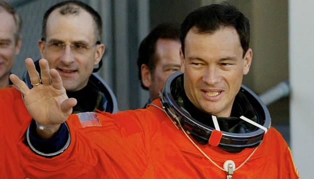 El astronauta hispanoestadounidense, Michael López Alegría.