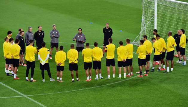 Emery, con el Sevilla.