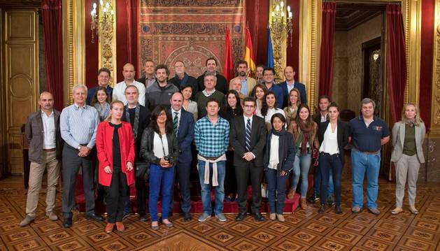 Arquitectos latinoamericanos visitan Navarra.