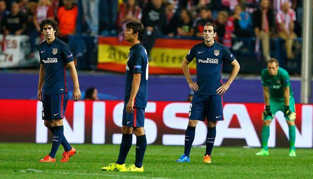 Gaitán silencia el Vicente Calderón y apaga al Atlético
