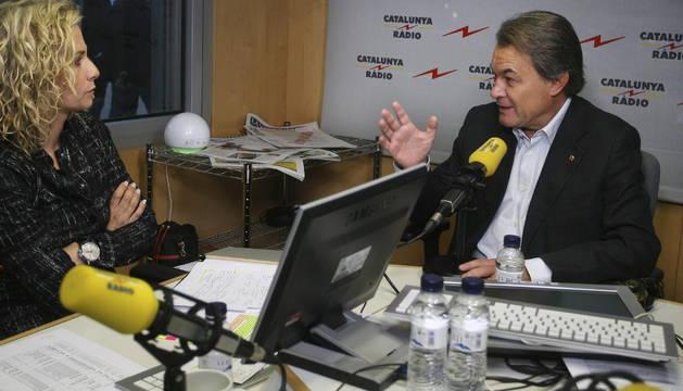 Artur Mas, este miércoles, en Catalunya Radio.