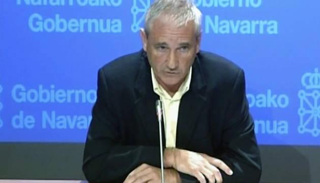 El consejero de Hacienda y Política Financiera del Gobierno de Navarra, Mikel Aranburu.