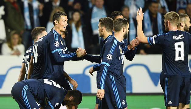 Cristiano sigue creciendo en la Champions