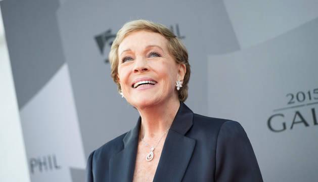 Julie Andrews, este miércoles en Los Ángeles.