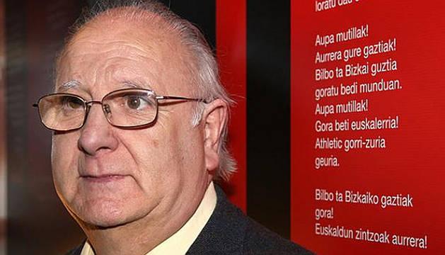 Antton Zubikarai, autor de la letra del himno del Athletic