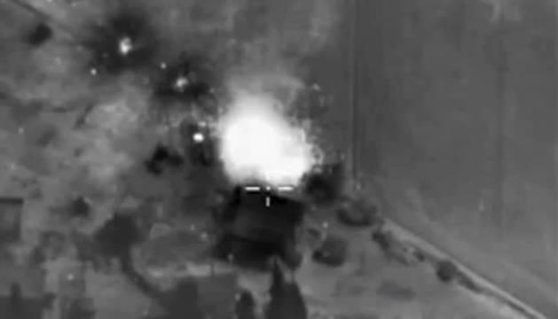 ACTIVISTAS DENUNCIAN SUPUESTO BOMBARDEO RUSO EN EL CENTRO DE SIRIA
