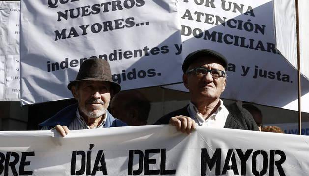 Los mayores de Navarra piden más presencia en foros de decisión