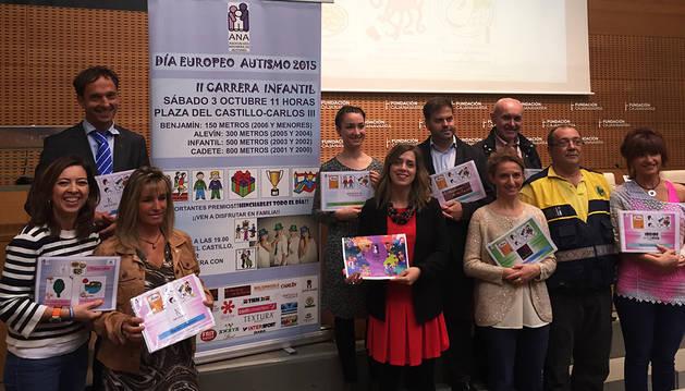La Plaza del Castillo acoge este sábado el Día Europeo del autismo