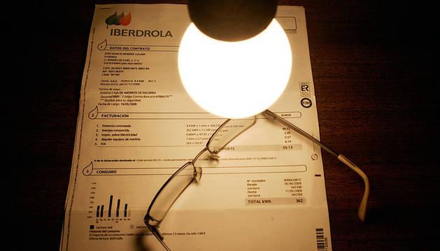Una factura de la luz.
