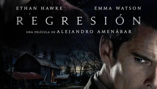 Cartel de 'Regresión'.