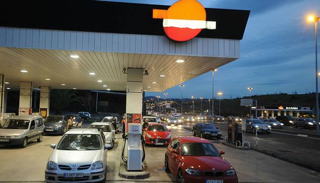 Gasolinera de Repsol en Leioa.