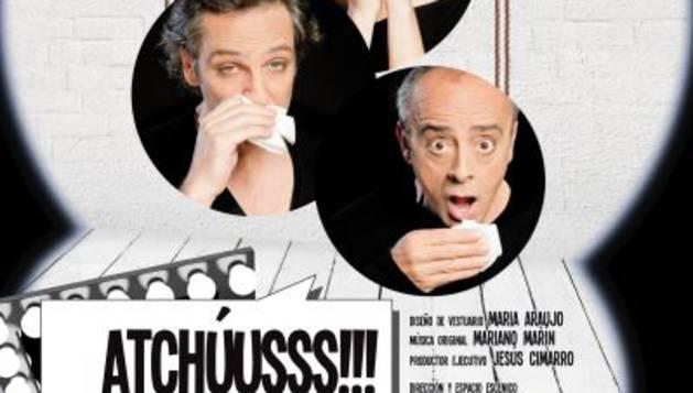 Cartel de 'Atchúusss!!!'.