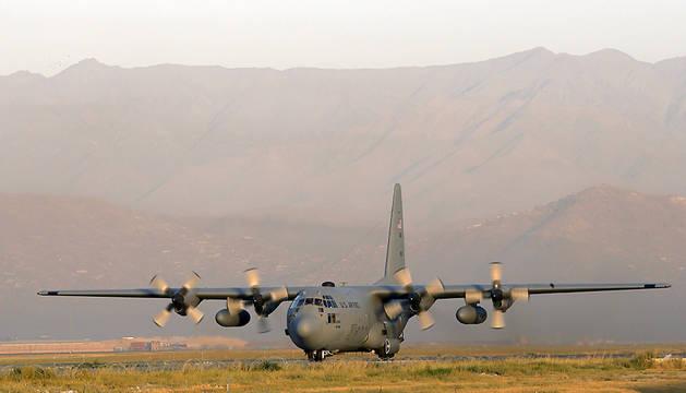 Doce muertos al estrellarse un avión militar de EE UU en Afganistán