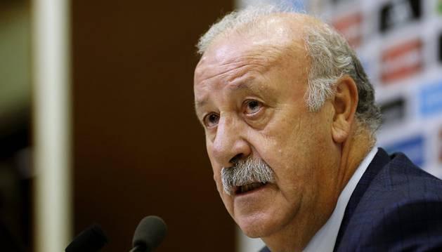 El seleccionador, Vicente Del Bosque.