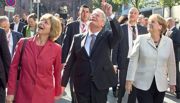 Celebraciones del 25 aniversario de la reunificación alemana
