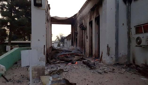 Ataque a un hospital en Afganistán