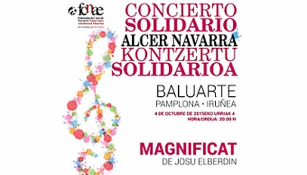 Baluarte acoge el 'Concierto benéfico por la donación en vida'