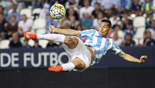El Málaga ya sabe lo que es marcar y ganar (3-1)