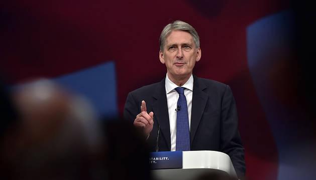 El ministro británico de Exteriores, Philip Hammond