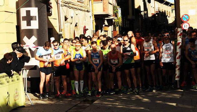 Cerca de 300 corredores completaron la prueba la pasada edición.