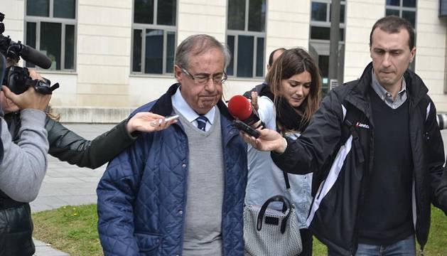 Vizcay, Peralta, Pascual y Archanco declaran este lunes en la Audiencia Provincial de Navarra por el 'Caso Osasuna'.