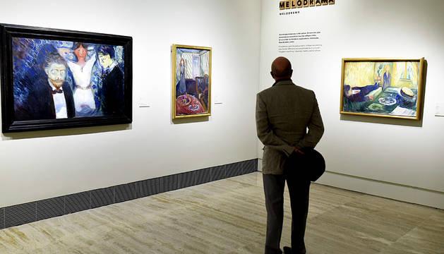El Museo Thyssen-Bornemisza de Madrid inauguró la muestra 'Arquetipos', que trae a los amantes del arte la cara menos conocida del pintor Edvard Munch escondida tras 'El Grito'.