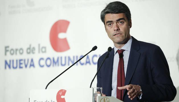 El consejero delegado de Vocento, Luis Enríquez.