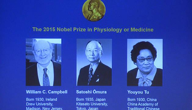 Nobel de Medicina para el tratamiento de parásitos y malaria