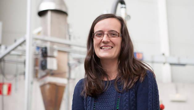 Patricia Aranguren, investigadora en la Universidad Pública de Navarra.