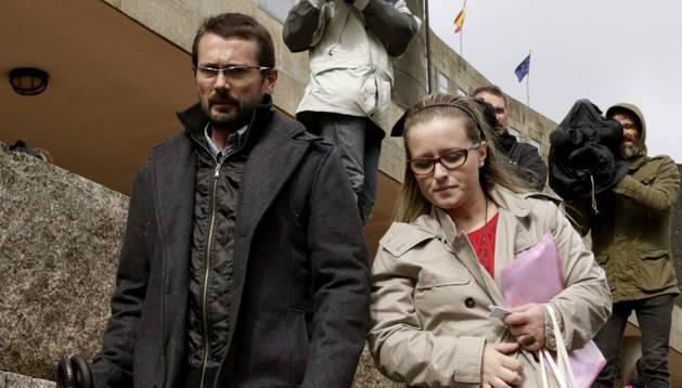 Antonio Lago y Estela Ordoñez, los padres de Andrea.