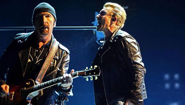 Bono y The Edge, en Barcelona.