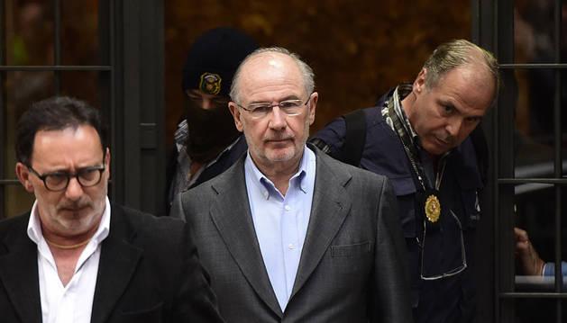 Rodrigo Rato, el pasado abril.