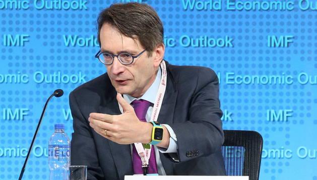 Thomas Helbling, jefe de la División de Estudios Económicos del FMI.