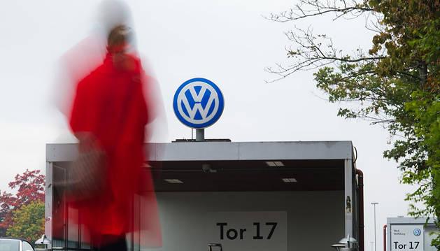 Planta de Volkswagen en Wolfsburg.