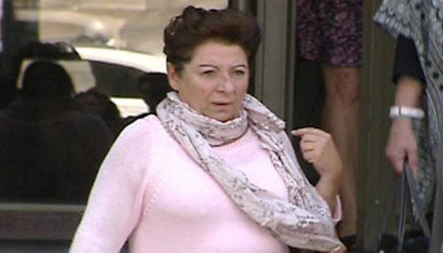 Imagen de televisión de Teresa Arellano.