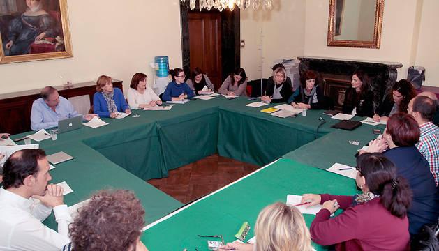 Reunión de la Mesa de Comercio.