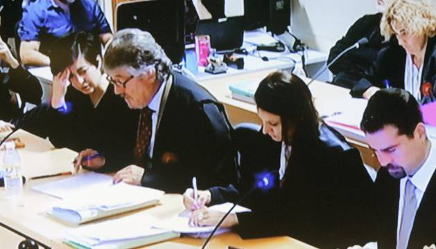 Septimo día de juicio por la muerte de la niña compostelana Asunta Basterra.