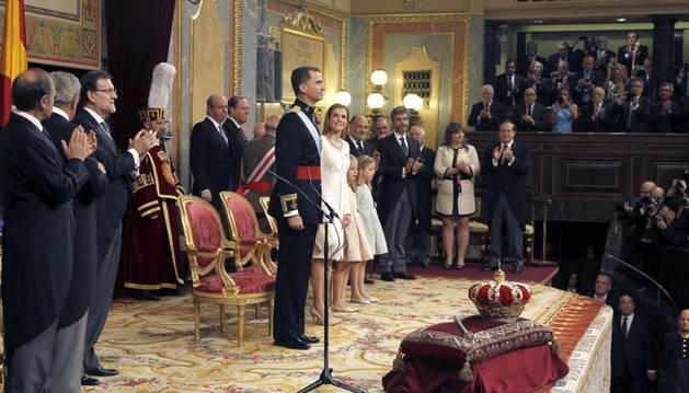 Proclamación de Felipe VI.