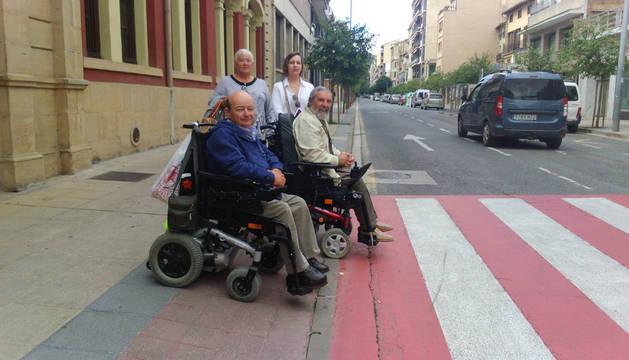 Amife aprueba Estella en silla de ruedas pero plantea 200 mejoras