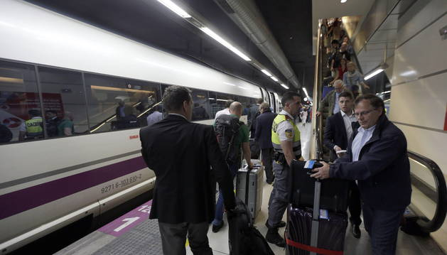 RENFE DISEÑA PLAN ALTERNATIVO PARA VIAJEROS DE LA LÍNEA MADRID-BARCELONA