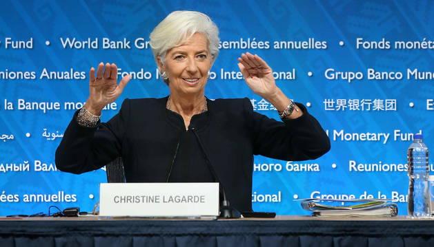 LAGARDE ABRE LA PUERTA A UN NUEVO MANDATO AL FRENTE DEL FMI