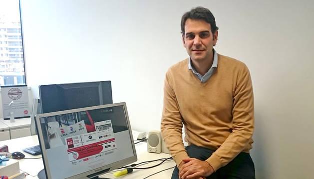 Iñigo Cortaire, gerente de AJE Navarra