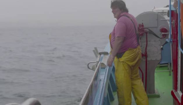 Manuel Iglesias, durante una de sus jornadas de trabajo