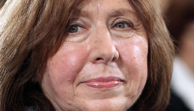 Svetlana Alexievich, en una imagen de 2013.