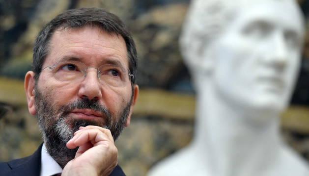 Foto de archivo del alcalde de Roma, Ignazio Marino.